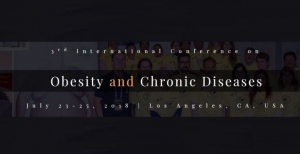 Última oportunidade para se inscrever no 3rd International Conference on Obesity and Chronic Diseases